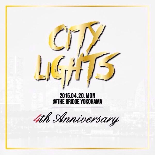 横浜イベント【CITY LIGHTS】4TH ANNIVERSARY