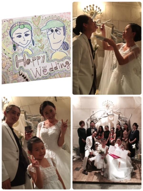 Mana先生結婚式☆♡