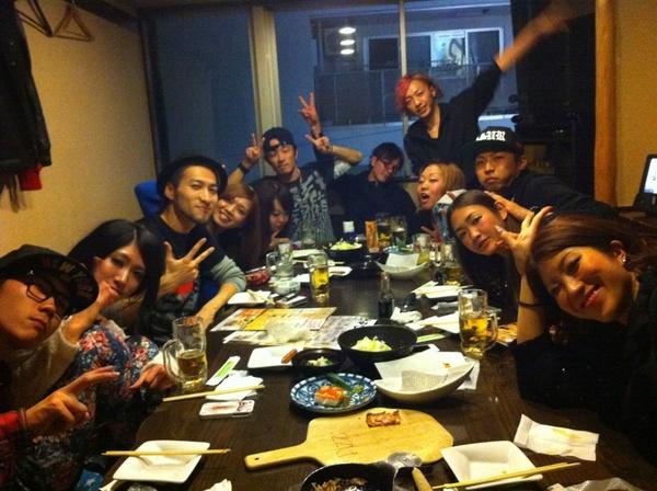 YK dance factory 大忘年会♪イェイヽ(・∀・)ノ