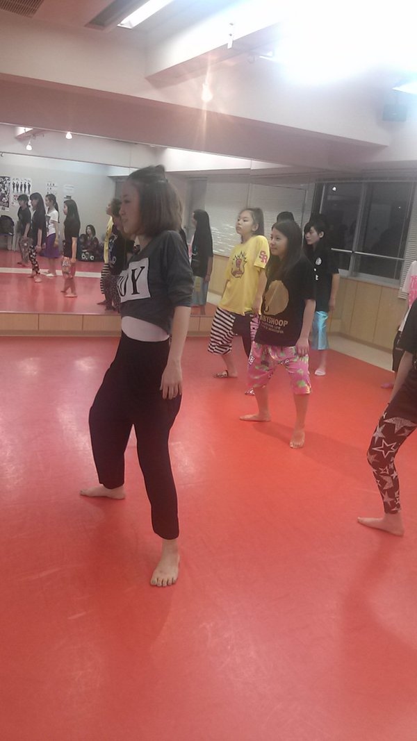 新横浜ダンススタジオ!MANA先生JAZZ体験(^ω^)