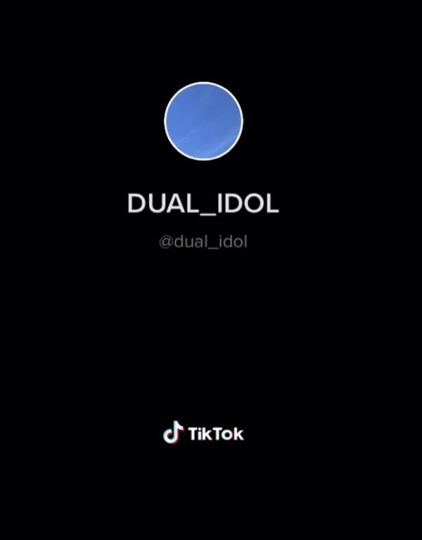 DUAL IDOL Instagram、TikTok出来ました❤︎